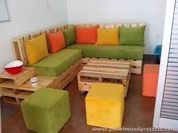 Furniture Made with Reused Wood Pallets