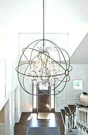 modern entry chandeliers entryway light fixtures lighting foyer chandelier ideas fix