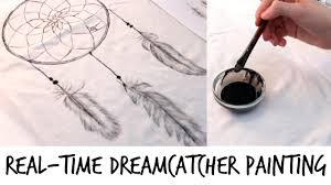 Dream Catcher Shirt Diy DIY Dreamcatcher Tshirt Painting RealTime YouTube 13