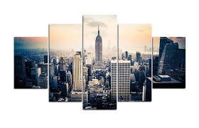 terrific new york city canvas wall art new