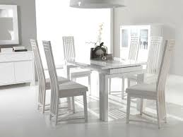 white wood dining chairs. Amazing Images Of Dining Room Design And Decoration With Various White Wood Chair : Contemporary Chairs