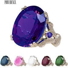 <b>Lady Big</b> Faux Topaz Finger Ring Party Wedding Club Jewelry ...