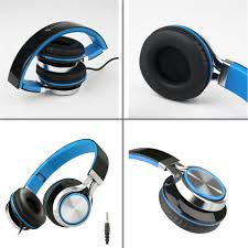 Zip Up Headphones Amazoncom Intone Ms200 Stereo Low Bass Folding And Adjustable