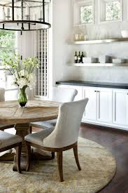 Distressed White Kitchen Table Rustic White Dining Chairs Interior Seat Cushions For Dining Room