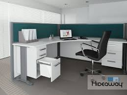 hideaway office design. incorporating a 15l hideaway bin into your office design is space saving solution to create t