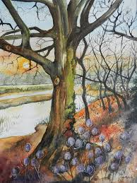 Autumn Glory by Lindsay Gregory | Art, Painting, Glory