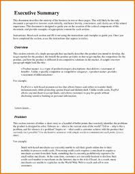 Format For An Executive Summary 030 Executive Summary Template For Proposal Marketing Plan