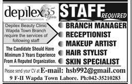 makeup artist dubai job