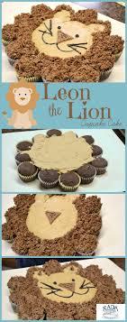 Cupcake Cake Lion Recipe Baking And Decorating Cupcake Cakes