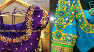South Indian Blouse Neck Design Full Embroidered Blouse Designs Ideas South Indian Blouse Designs Ideas