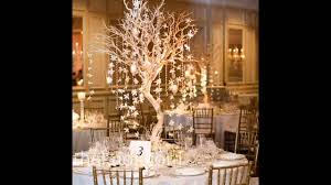 Winter Wedding Decor Easy Winter Wedding Table Decorations Youtube