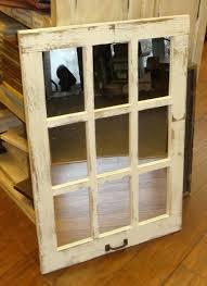 mirrored window pane barn wood 9 pane window mirror vertical rustic home decor mirror many colors