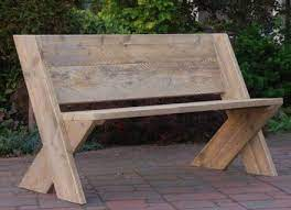simple and attractive diy bench