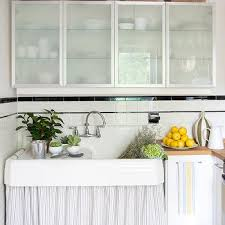 ikea frosted glass kitchen cabinets