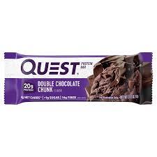 <b>Quest Bar Double</b> Chocolate Chunk Protein Bar, 2.12 oz ...
