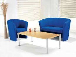 image of light blue living room chairs