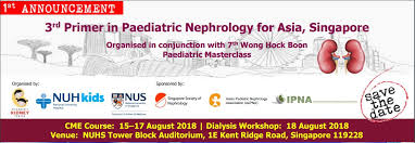 Asian association nephrology pediatric