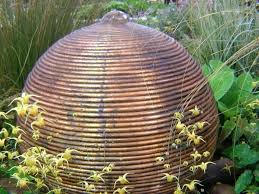 copper garden art. Copper Garden Statues Brilliant Water Feature Intriguing Sculpture Art Outdoor . N