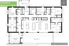 one floor house plans case cu single story 4 bedroom house plans 7 floor house plans
