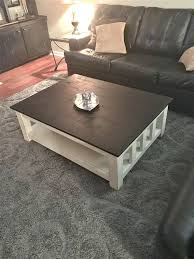 picture of distressed coffee table