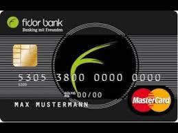 Bei Schufafrei Bank Vorzüge Der Ohne Fidor Gebühren Auch xTw1S