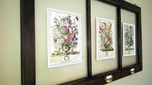 vintage window frames old decor ideas for wooden windows craft frame art black wall w