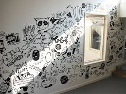 office wall paintings. Contemporary Wall Drawn Office Wall 1 In Office Wall Paintings