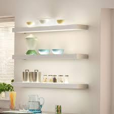 kitchen lighting images. LED Illuminated Shelf Kitchen Lighting Images