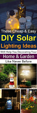 these diy solar light projects are inexpensive and easy to follow and can beautify your home
