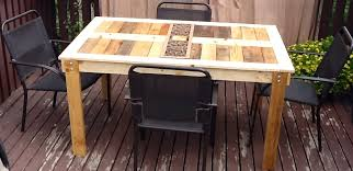 patio furniture from pallets. patio table using pallets ana white modified outdoor pallet diy projects furniture from