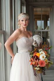 another amazing creation from wedding gowns by daci! simple floral Wedding Gowns By Daci another amazing creation from wedding gowns by daci! simple floral headpiece that gives this bride a soft elegant touch pinterest floral headpiece wedding gowns by daci