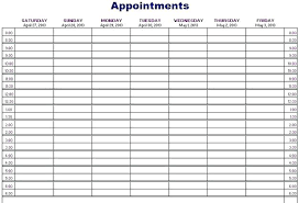 Appointment Planner Template 2018 09 Excel Appointment Schedule Template Appointment Scheduler