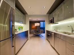 Narrow Kitchen Design Kitchen Galley Kitchen Lead Efficient Galley Kitchens Small