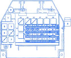 fiat x19 fi 1987 engine fuse box block circuit breaker diagram fiat x19 fi 1987 engine fuse box block circuit breaker diagram
