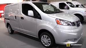 2015 nissan nv200 interior. Plain Nv200 2015 Nissan NV200 Commercial Vehicle  Exterior And Interior Walkaround  New York Auto Show YouTube To Nv200