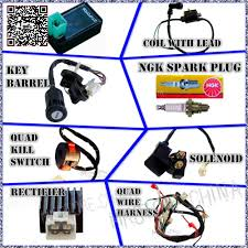 125cc atv quad picture more detailed picture about wiring wiring harness cdi coil kill key switch 50cc 110cc 125cc atv quad bike buggy shipping