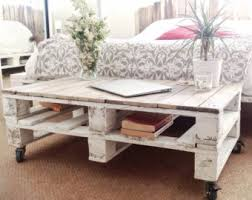 Pallet Coffee Table With Wheels And Glass Top  Pallet Furniture DIYPallet Coffee Table On Wheels