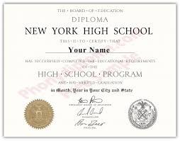 Diplomas York Fake From - Transcripts com Phonydiploma And New
