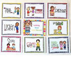 Good Manners Chart For Class 1 Skillful Creative Charts For Class Decoration Good Manner