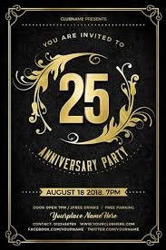 Download The Best Anniversary Flyer Templates For Photoshop