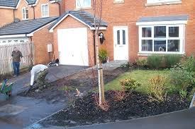 garden landscaping project in offerton