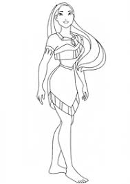 Small Picture Pocahontas Coloring Pages Index