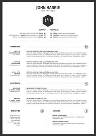 Template Office Word Cv Template Modern Resume Templates