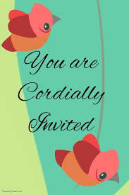 cordially invited template you are cordially invited template postermywall