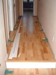 floating wood floor ash floating wood flooring installed in a hallway can you put a floating