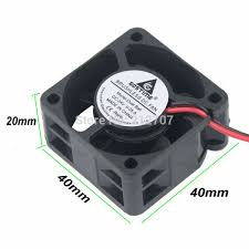2 pcs lot gdstime ball bearing 40mm 4cm 40x40x10mm 2pin 12v dc brushless cooling cooler fan