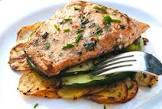 bev s grilled salmon