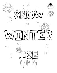 We've included some beautiful and detailed winter coloring pages, snowman coloring pages, snow coloring pages, winter wear coloring pages and even winter animal coloring pages. Free Winter Coloring Pages Little Lukes Preschool And Childcare Center