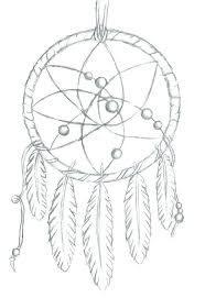 Native Dream Catchers Drawings Dream Catcher Coloring Pages Adult Coloring Page Indian Dream 81