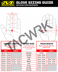 Mechanix Wear Glove Size Chart Mechanix Original Red Tacwrk